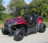 Allstars Buggy Dinky Quad 150cc Straßenzulassung 2 Sitze rot