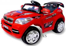 Allstars Elektro-Kinderauto E-Auto BMX Cabrio 2 Sitzer rot
