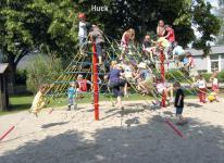 Huck Zeltnetz Rabenscheid Kletterpyramide