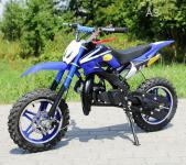 Allstars Dirtbike Pocketbike 49 ccm Delta blau