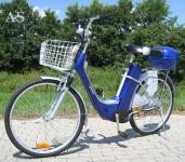 """Allstars Elektrofahrrad 26"""" Pedelec Cityline blau"""