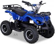 allstars Quad Elektroquad 800W Torino Kinderquad Pocketquad blau