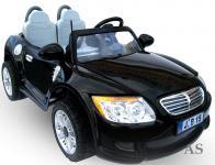allstars Kinderauto Elektroauto Zweisitzer E-Auto B15E schwarz