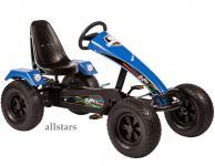 Allstars Dino Cars Kettcar GoKart Stylez S224 Breitreifen schwarz-blau