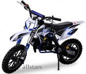 Allstars Kindermotorrad 49 cc Mini CrossBike Pocketbike blau