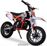 Allstars Kindermotorrad 49 cc Mini CrossBike Pocketbike orange