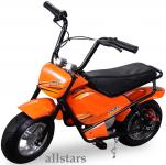 Allstars Mini Elektrobike E-Bike Elektro Motorrad 250W orange Pocketbike