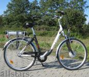 Allstars E-Fahrrad Elektrofahrrad ALU Pedelec City 4000 HT 28 Zoll