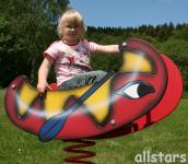 Allstars SHWing Federwippe Kanu Kiki Wippe Spielplatz-Wippe Fliwi
