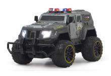 Jamara RC Auto SWAT Geländewagen 1:12 LED Stollenreifen Funk ABS-Karosserie