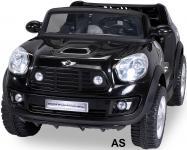 Kinderauto Elektro BMW Mini Beachcomber 2-Sitzer Fernbedienung schwarz