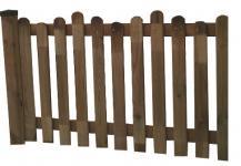 Allstars Zaunelement Erweiterung Holzzaun Zaun Zaunteil