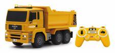 Jamara RC Auto Muldenkipper MAN 1:20 Kipper gelb Baufahrzeug Funk
