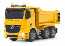 Jamara RC Auto Muldenkipper Mercedes Arocs 1:20 Kipper gelb Baufahrzeug Funk