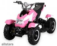 Allstars Pocketquad pink-weiss Cobra 800 Watt Miniquad