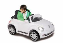Jamara Ride On VW Beetle Kinderauto Elektroauto weiß 2, 4G 6V