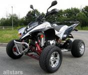 Allstars Quad 250cc Shineray XY250 schwarz-silber Straßenquad Zweisitzer