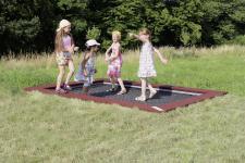 Hally-Gally Spogg Spielplatzgerät Trampolin 2000 Sprungmatte Einbautrampolin