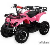 allstars Quad Elektroquad 800W Torino Kinderquad Pocketquad pink