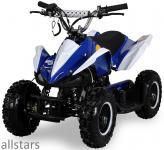 Allstars Kinderquad Quad Pocket-Quad Racer 49cc blau-weiß