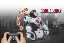 Jamara Modell Robibot Bluetooth weiß rot App Roboter