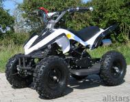 Allstars Kinderquad Quad Pocket-Quad Racer 49cc weiß-schwarz