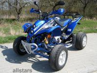 Allstars Quad 250cc Shineray XY250 blau/schwarz Straßenquad Zweisitzer