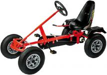 DinoCars Dino Cars GoCart GoKart Classic AF Kinderauto Tretauto mit Kette Kettcar