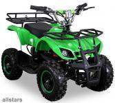 allstars Quad Elektroquad 800W Torino Kinderquad Pocketquad grün