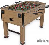 Allstars Fußballkicker Real 142 Tischfußball Holzdekor natur