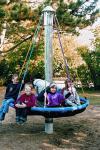Hally-Gally Spogg Vogelnest-Karussell Seilklettergerüst Kreisel Spielplatzgeräte
