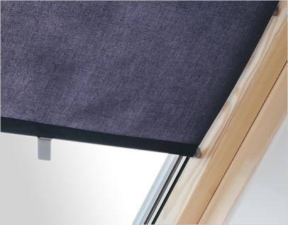 innenrollo rar f r dachfenster beige oder dunkelblau gr e cxa c2a und c24 fxa f6a mxa. Black Bedroom Furniture Sets. Home Design Ideas