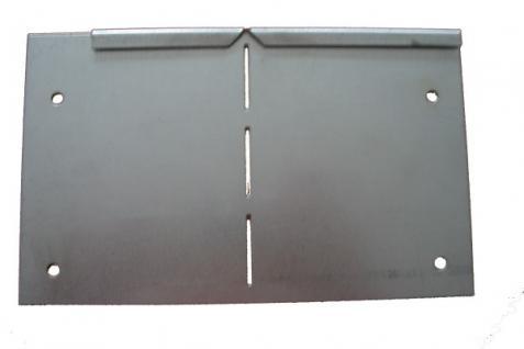 Rasenkanten Eckprofil variabel biegbar für Rasenkante Metall 1180 x 120 x 95 mm