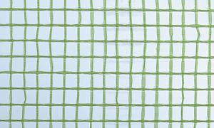 Gitterfolie Standard 1,5 x 50 m Rolle grün-transparent, mit Gitterarmierung, UV-stabilisiert, Abdeckfolie, Gitterplane 2,66 EUR/qm - Vorschau