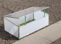 Gartentec Aufzucht Frühbeet Einfach 0, 57 qm 4 mm starke Spezial-Hohlkammerscheiben