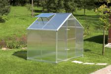 Gartentec Aluminium Gewächshaus Typ F2 3, 5 qm, 6 mm