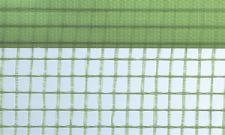 Gitterfolie mit Nagelrand 1,5 x 50 m Rolle grün-transparent, mit Gitterarmierung, UV-stabilisiert, Abdeckfolie, Gitterplane 2,95 EUR/qm