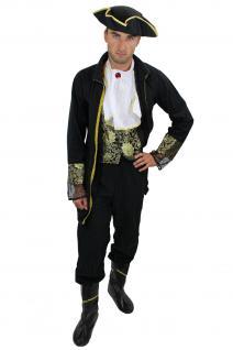 Komplettset: Kostüm Herren Herrenkostüm Barock Pirat Edelmann edler Lord L012