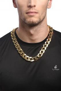 Kette Halskette Gangster Hip-Hop Proll Halloween Karneval golfdarben RH-012-gold