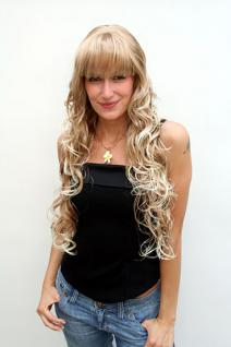 Perücke blond wallendes Haar 4306-27T613