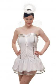 Kostümset Damenkostüm Kleid : Sexy Engel Angel Engelchen Unschuld Ballerina L018