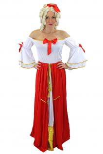 Damenkostüm Kostüm Kleid Prinzessin Königin Edeldame Viktorianisch L035 40 (M)