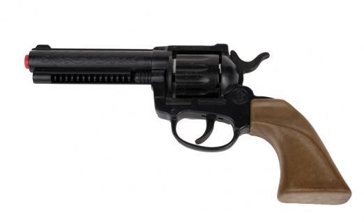 Rubies: Cowboy, 22cm Modell 6/342319 Spielzeug Revolver Pistole Sheriff Western