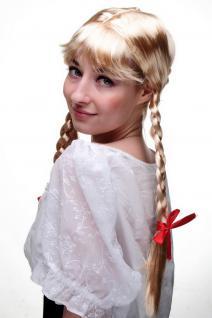 per cke mit 2 seitlichen z pfen blond frau antje aus holland alm m dchen wig neu kaufen bei vk. Black Bedroom Furniture Sets. Home Design Ideas