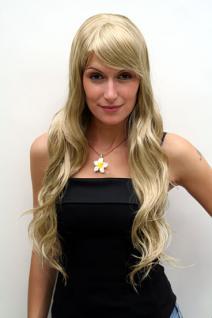 Perücke blond langes Haar 9317-234