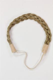 Haarteil: geflochtener Haarreif Kunsthaar Hair Circlet Blond YZF-3080-24