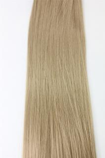 Clip-In, Achtteilig, Set, Extensions, Haarverlängerung, Aschblond, 40 cm, EX03-GGO-25