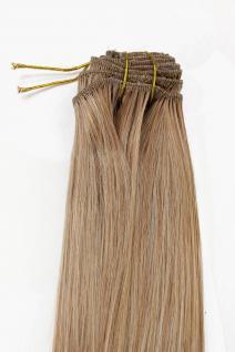 Clip-In, Achtteilig, Set, Extensions, Haarverlängerung, Blondmix, 40cm, EX03-GGO-27T613