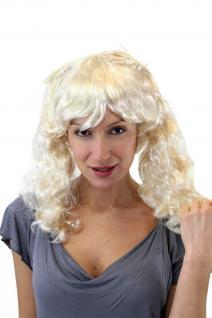 Perücke Blond Cosplay niedlich süß Schulmädchen Fasching Gothic Lolita VZ065 NEU