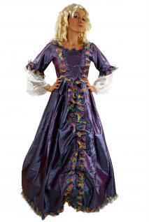 KOLONIALES Kostüm KLEID Barock Ballkleid Südstaaten Bürgerkrieg Civil War K24